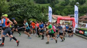 Départ de la course Neirivue Moléson