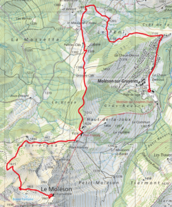 Carte topographique 2021